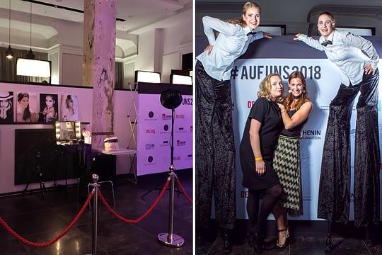 "Nadine Geigle Woman Business Lounge Kooperation ""AUF UNS 2018"" 2. Oktober 01 AufUns"