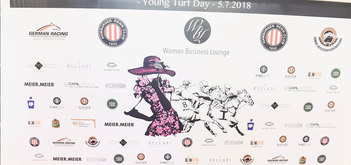 Nadine Geigle 18. Woman Business Lounge - Young Turf Day - Hamburg 2018 01 18.WBL NadineGeigle